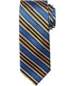 Jos Bank Reserve Collection Stripe Pattern Tie CLE