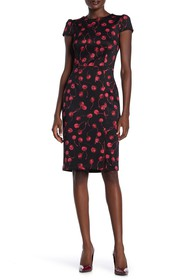 Betsey Johnson Cherry Print Scuba Dress