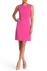 Betsey Johnson Cutout Back Scuba Crepe Dress