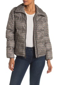 Lucky Brand Missy Printed Puffer Jacket