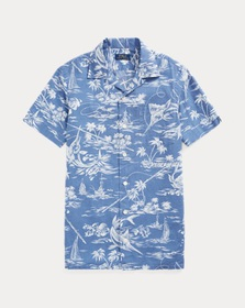 Ralph Lauren Classic Fit Marlin Camp Shirt