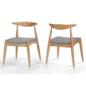 Set of 2 Francie Mid Century Dining Chairs - Chris