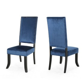 Set of 2 Coquille Glam Velvet Dining Chair - Chris