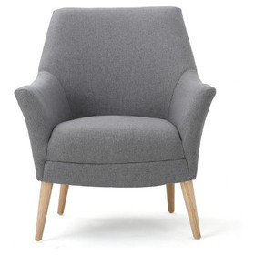 Mae Upholstered Club Chair - Christopher Knight Ho
