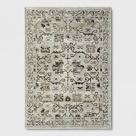 Neutral Tapestry Woven Area Rug - Threshold™