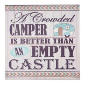 """""""A Crowded Camper"""" Canvas Wall Art $4.99$5.99Save"""