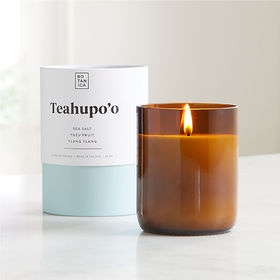 Crate Barrel Botanica Teahupo'o Scented Candle