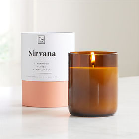 Crate Barrel Botanica Nirvana Scented Candle