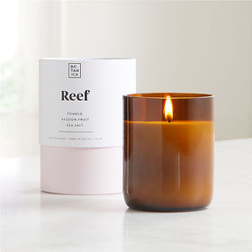 Crate Barrel Botanica Reef Scented Candle