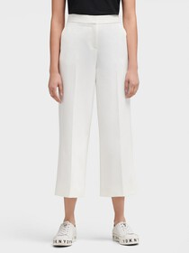 Donna Karan SLIM PANT WITH SIDE SLITS