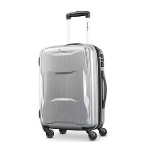 "Samsonite Pivot 20"" Spinner in the color Brushed S"