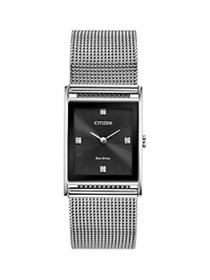 Citizen Axiom Diamond and Stainless Steel Analog W