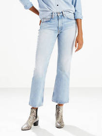Levi's 517 Cropped Boot Cut Women's Jeans