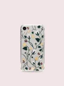 deco bloom clear iphone xr case