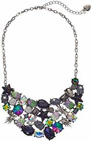 Betsey Johnson Mixed Star & Stone Cluster Statemen