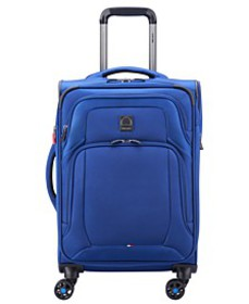 """OptiMax Lite 21"""" Expandable Carry-On Suitcase, Cre"""