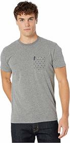 Ben Sherman Pocket Dot Stripe Print Style Tee