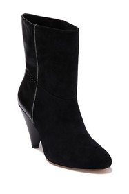 Halston Heritage Molly Leather Mid Calf Boot