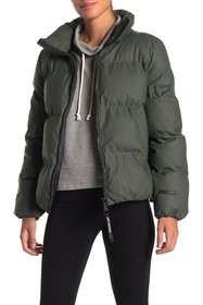 Juicy Couture Cozy Zip Puffer Jacket