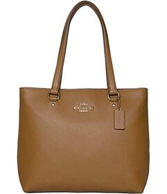 COACH Pebbled Leather Bay Tote