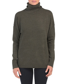 FRENCH CONNECTION Babysoft Ribbed Cowl Neck Sweate