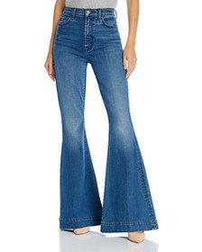 7 For All Mankind - High-Waist Mega Flare Jeans in