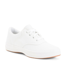 KEDS Leather Sneakers (Little Kid, Big Kid)