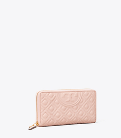Tory Burch fleming zip continental wallet main