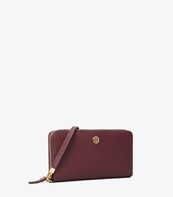 Tory Burch robinson passport continental wallet ma