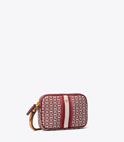 Tory Burch gemini link canvas wristlet main