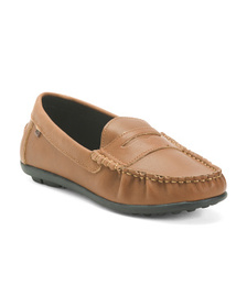 KENNETH COLE REACTION Leather Penny Loafers (Big K