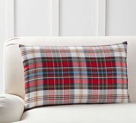 Pottery Barn Declan Plaid Pillow Cover