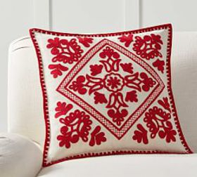 Pottery Barn Elsie Embroidered Pillow Cover