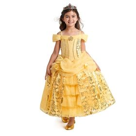 Disney Belle Deluxe Costume for Kids – Beauty and