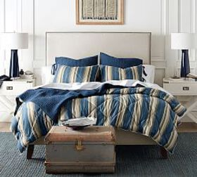 Pottery Barn Greer Stripe Comforter & Shams