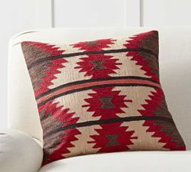 Pottery Barn Dorie Crewel Pillow Cover