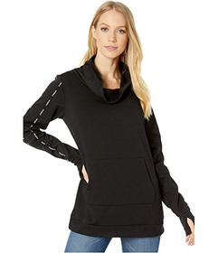 Bebe Sport Long Sleeve Cowl Neck