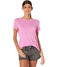 Splendid Zoe Short Sleeve Cotton Modal Slub Crew N