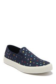 Sperry Captains Printed Slip-On Sneaker
