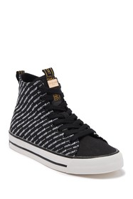 Roberto Cavalli Logo High-Top Sneaker