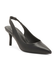 CHARLES BY CHARLES DAVID Slingback Pointy Toe Pump