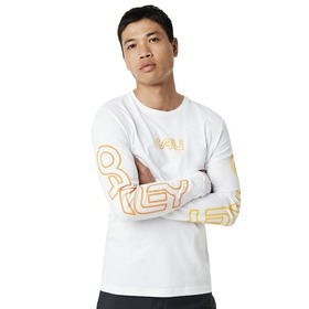 Oakley Cali Long Sleeves Tee - White