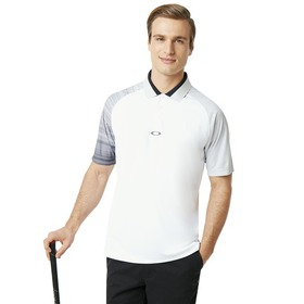 Oakley Aerodynamic Golf Polo SS - White