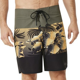 Oakley Flower Block Seamless 19 - Dark Brush