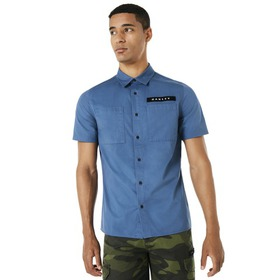 Oakley Icon SS Shirt - Ensign Blue