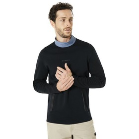 Oakley Cycling Collar Utility LS Tee - Blackout