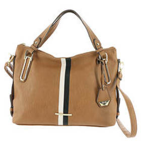 Jessica Simpson Devon Stripe Crossbody Satchel