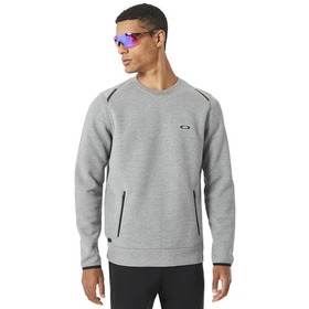 Oakley Tech Knit Crew - Athletic Heather Grey