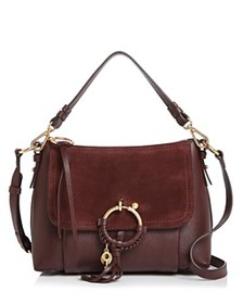 See by Chloé - Joan Small Leather & Suede Shoulder