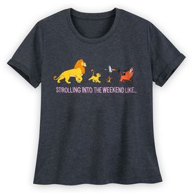 Disney The Lion King Cropped T-Shirt for Women